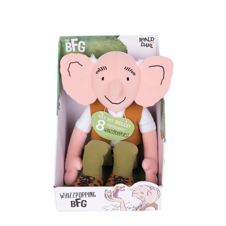 Whizzpopping The BFG Soft Toy