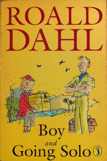 boy and going solo cover  u2013 roald dahl fans