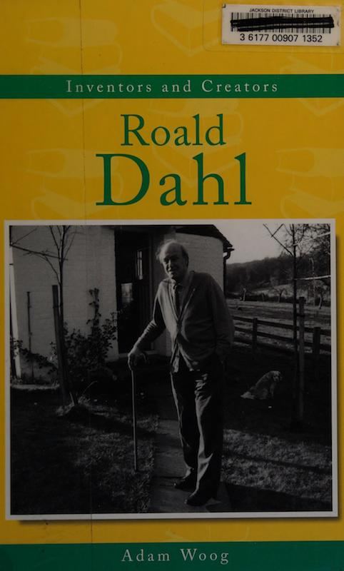 Roald Dahl (Inventors and Creators) cover