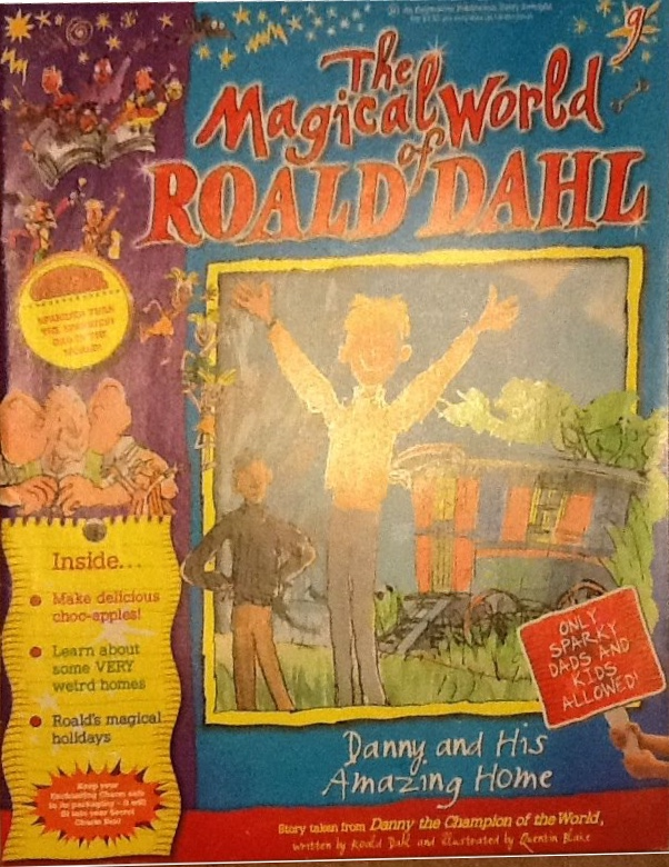 The Magical World of Roald Dahl - Issue 9 cover