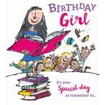 Matilda Birthday Card