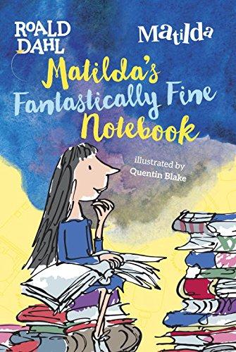 Matilda S Fantastically Fine Notebook Cover Roald Dahl Fans