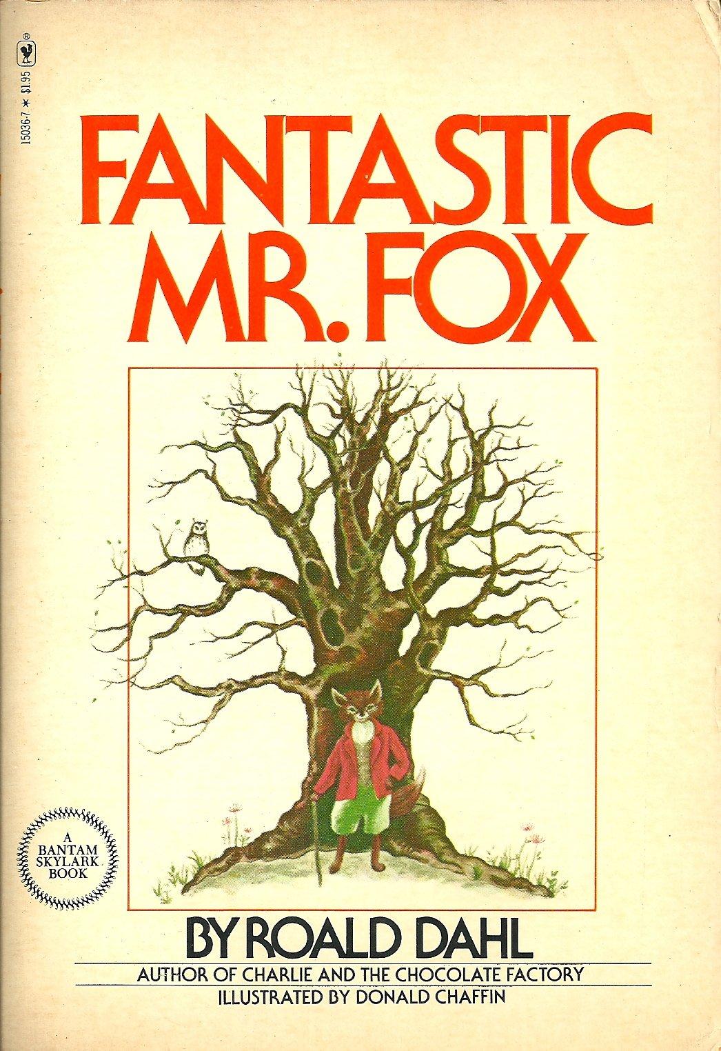 fantastic mr  fox cover  u2013 roald dahl fans