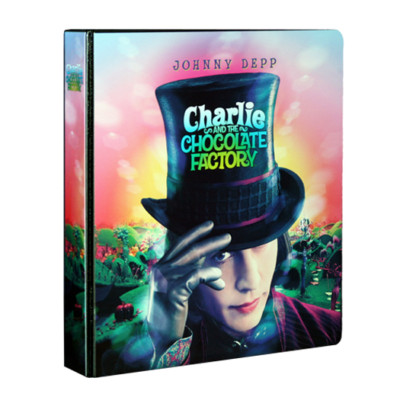 Charlie and the Chocolate Factory Trading Card Binder