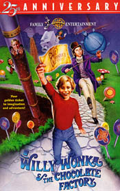 Willy Wonka and the Chocolate Factory video cover