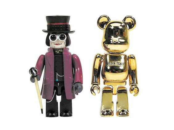 Wonka Kubrick and Golden Ticket Be@rbrick